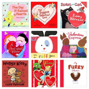 valentines day books
