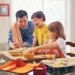 Cooking with grandchildren
