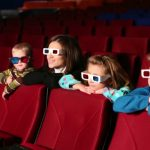 Kids in the cinema